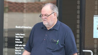 Meghan Markle's dad Thomas Markle heads out to tie up loose ends and runs errands before the Royal Wedding. Markle visited a bank, post office and a pharmacy in L.A.