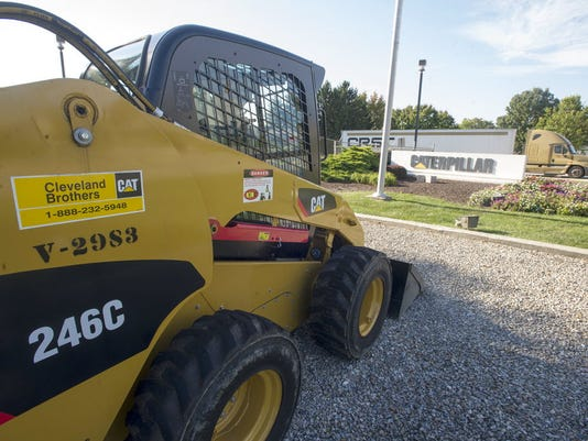 Caterpillar Inc. has a facility in Springettsbury Township, which is shown in this 2013 file photo.