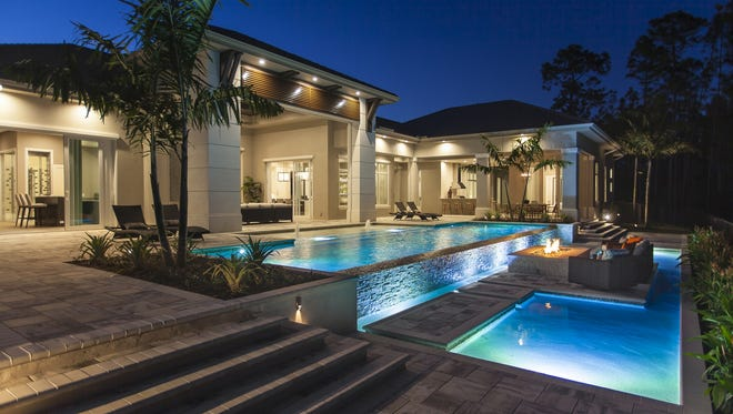 The eagate Development Group announced its 5,693-square-foot Pine Valley furnished grand estate model at Quail West is open for viewing and purchase.