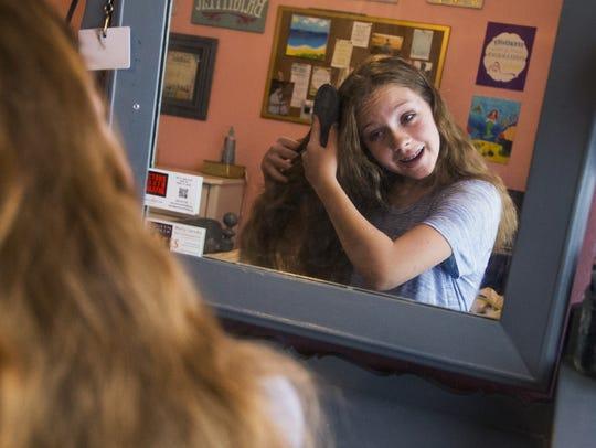 Queen Creek Middle School student Olivia Vella, 13,