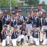 The Tigers closed out their Northville Youth Baseball League season recently by capturing the Mustang Division title. Team members include (front row, from left): Jack Morse, Andrew Kummer, Bryden Marshall, Ryan Kelly, Aidan Turner; (back row, from left) head coach Brad Leidal, Brett Leidal, Zack Kuzma, assistant coach Todd Kuzma, Preston Johnson, Tyler Donaldson, Matt Abraham, assistant coach Shawn Kelly, Noah Segerstrom, Scotty Haakenson. (Not Pictured is Jacob Gardner.)