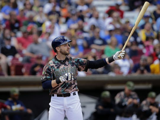 Ryan Braun is among the popular Milwaukee Brewers who've shown up in a Timber Rattlers uniform in recent years. Braun will be part of this year's bobblehead collection at Fox Cities Stadium.