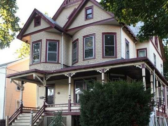 A view of a house for sale at 834 John St. in Peekskill, photographed Sept. 9, 2014. The house is for sale at $249,000 and the seller seeks an all-cash buyer. The building needs extensive repairs and most banks won't issue a mortgage loan for such dilapidated property.