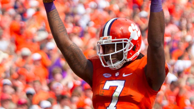 Clemson wide receiver Mike Williams has been a standout for the Tigers this season, and will be a key against Alabama.
