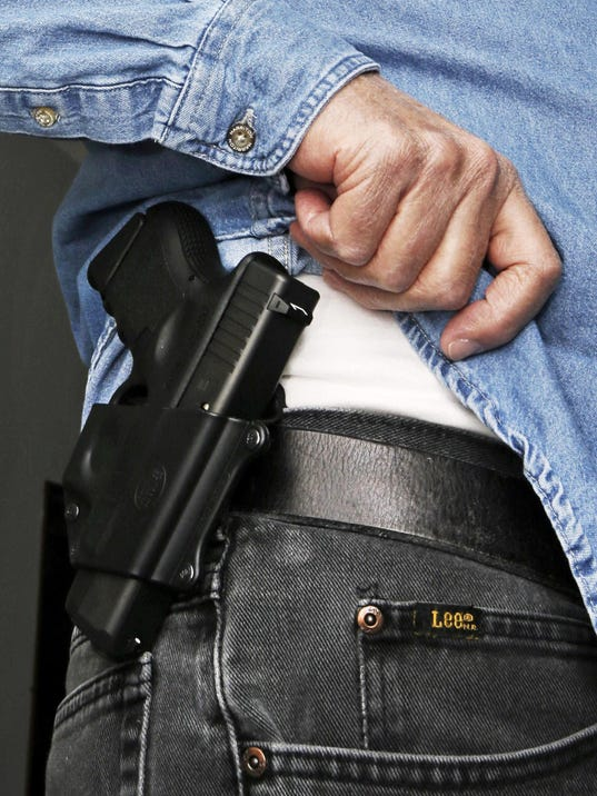 concealed guns firearms carry