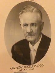 Sen. Grady Hazlewood served from 1941 to 1971.