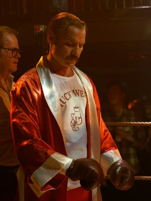 """Boxer Chuck Wepner (Liev Schreiber) goes almost 15 rounds with Muhammad Ali in """"Chuck."""""""