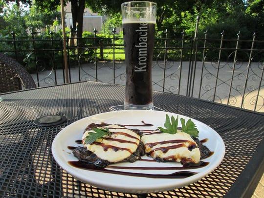 One appetizer at Stilt House includes two Portobello