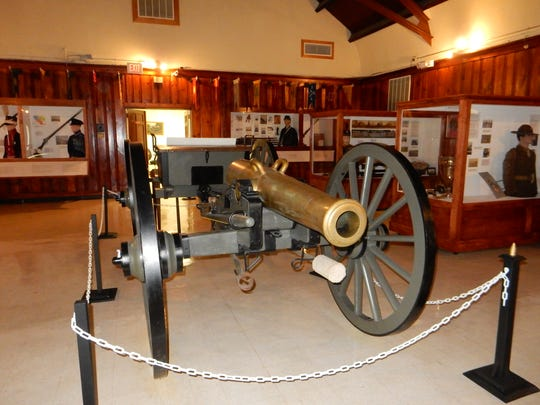 Go back in time at The National Guard Militia Museum, Sea Girt Avenue and Camp Drive in Sea Girt.
