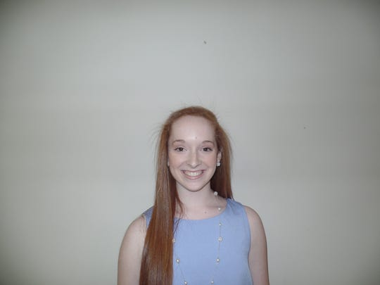 Addison Ballew has earned a scholarship from the Fountain Inn Music Club.