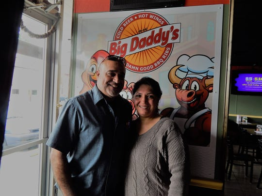 Mike and Mary Sharifi, the new owners of Big Daddy's Ribs and Wings, 204 Cumberland St., Lebanon.