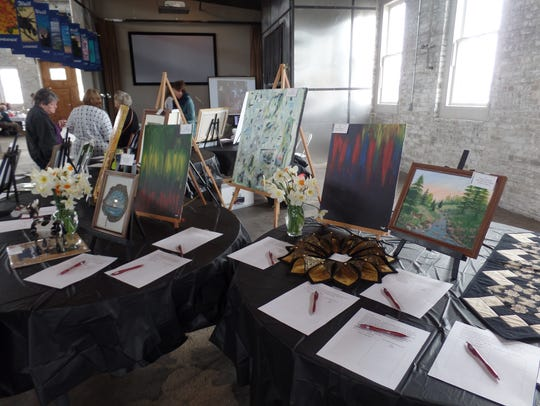 Works by area artists not only will be for sale but