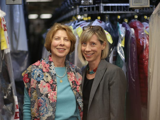From left, Pierrette Ruhland and Tina Hawkinson at