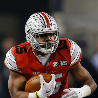 Ohio State running back Ezekiel Elliott was named Big
