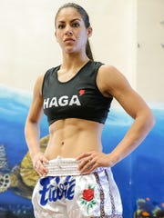 MMA fighter Brogan Walker is photographed at IFit Guam Gym in Tamuning on Aug. 1.