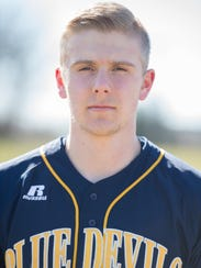 Evan Maun, Greencastle baseball