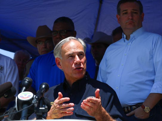 Texas Governor Greg Abbott shares information about