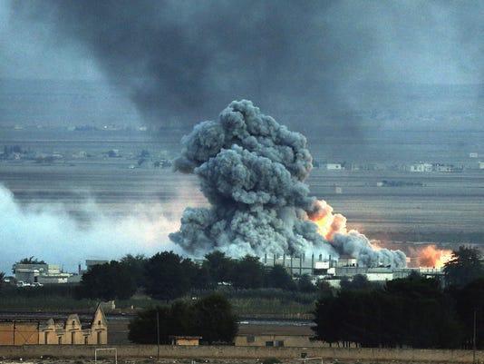 EPA TURKEY SYRIA BORDER CONFLICT WAR ARMED CONFLICT TUR