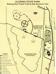 Algonac State Park's Blazing Star Prairie Trail and