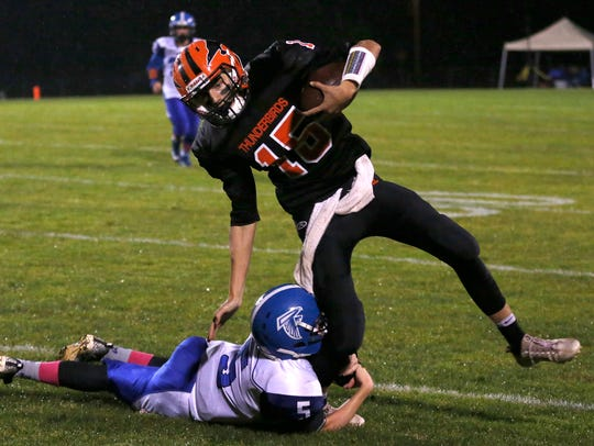 Iola-Scandinavia sophomore quarterback is one reason the Thunderbirds rank No. 4 in the central Wisconsin prep football Power Poll heading into the WIAA Division 6 playoffs.