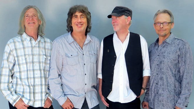 Poco members (from left) Rick Lonow, Michael Webb, Rusty Young and Jack Sundrud, will play this weekend at the Thrasher Opera House in Green Lake.