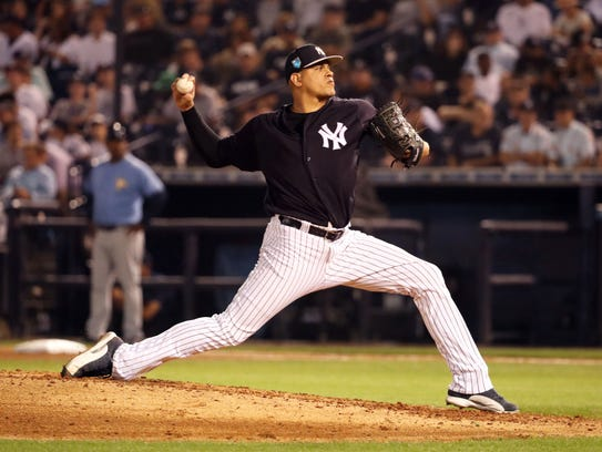 Yankees relief pitcher Dellin Betances wants to return