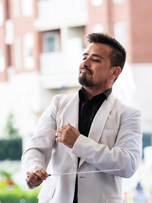 Columbus Symphony Assistant Conductor Andres Lopera, who will lead the symphony in outdoor Community Concerts