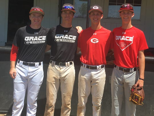 Grace Brethren has a pair of brothers on its baseball