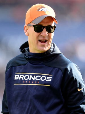 Peyton Manning has been sidelined with a foot injury for several weeks.