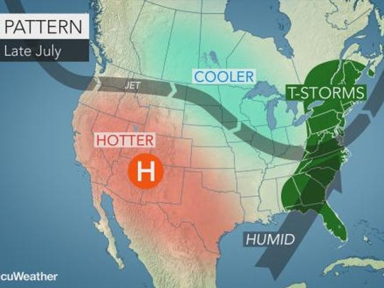 Thunderstorms could hit the Lower Hudson Valley in