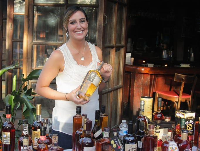 The Beer, Bourbon, Barbecue & Bluegrass event at Seville Quarter allowed people to sample small-batch bourbons, seasonal beers, fresh oysters and more Wednesday night.
