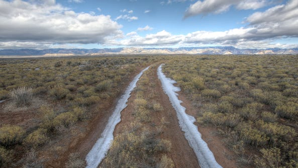 This land in Carbon County, Utah was recently leased
