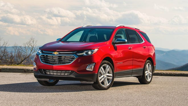 The top selling vehicle in Detroit is the Chevrolet Equinox