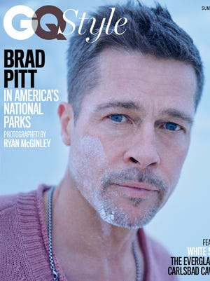 Brad Pitt on the cover of 'GQ Style.'