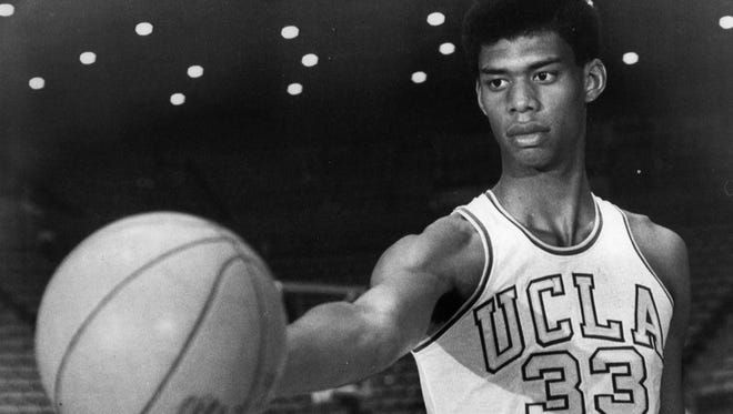 Lew Alcindor (he later changed his name to Kareem Abdul-Jabbar) was expected to be the No. 1 pick in the 1969 NBA draft, which came to the Milwaukee Bucks in a coin toss.