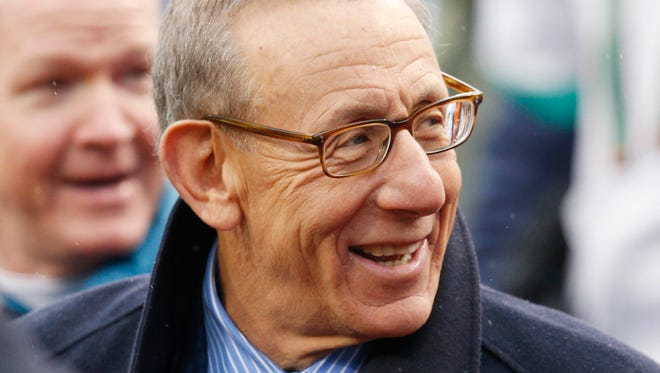 Miami Dolphins owner Stephen M. Ross hopes to curb bullying in sports in the wake of the Dolphins' bullying scandal.