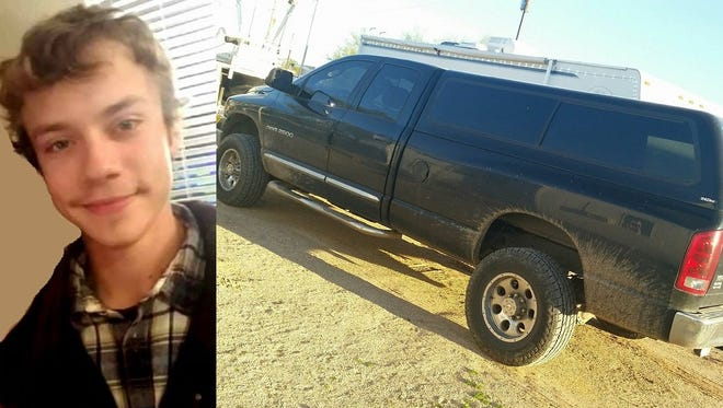 Phoenix police are asking the public for help finding Dillon Gray, 19. He was last seen in his 2005 black Dodge Ram truck