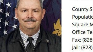 Sheriff Danny Millsaps of Graham County, N.C.
