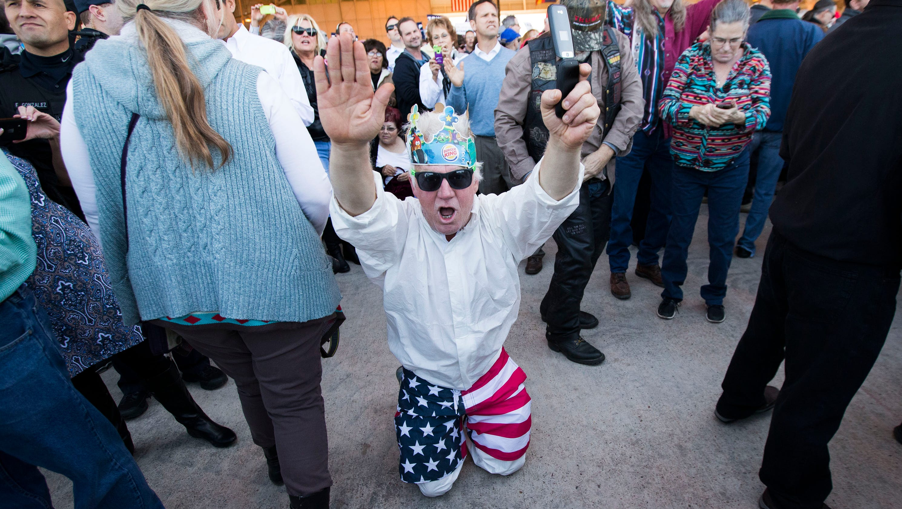 Top highlights from Donald Trump's Mesa rally