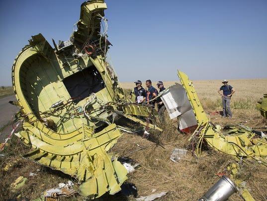 AP APTOPIX Ukraine Plane