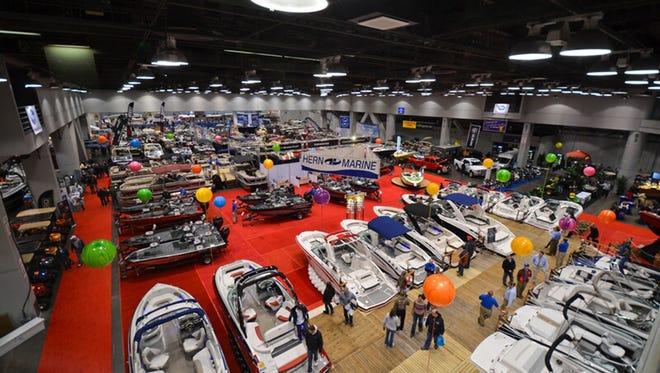 The 58th annual Cincinnati Travel, Sports & Boat Show.