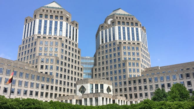 Procter and Gamble is headquartered in downtown Cincinnati. It was founded in 1837 by William Procter and James Gamble.