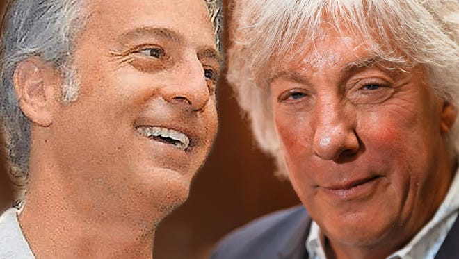 Attorney Mike Morse, left, is trying to fend off a series of lawsuits from Geoffrey Fieger.