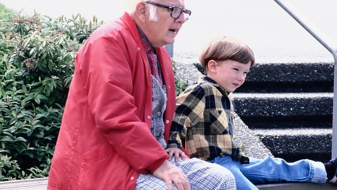 A grandfather wants his grandson to stay with him for a summer.