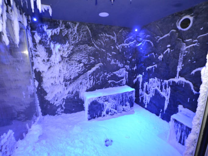 Latest Gee Whiz Cruise Ship Feature Snow Grotto