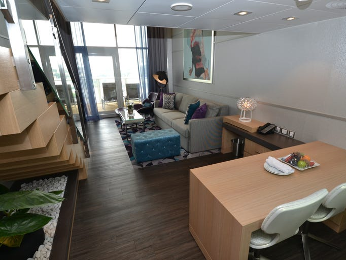Living Large Inside The Swanky Suites Of Harmony Of The Seas