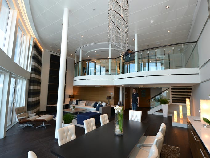 Living Large Inside The Super Suites On Quantum Of The Seas