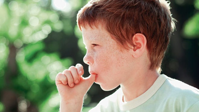 The behavior of sucking on fingers or pacifiers is considered normal in young children as it satisfies their need for contact and security. If this is still a persistent habit by 3 years, it is recommended to talk to a professional.
