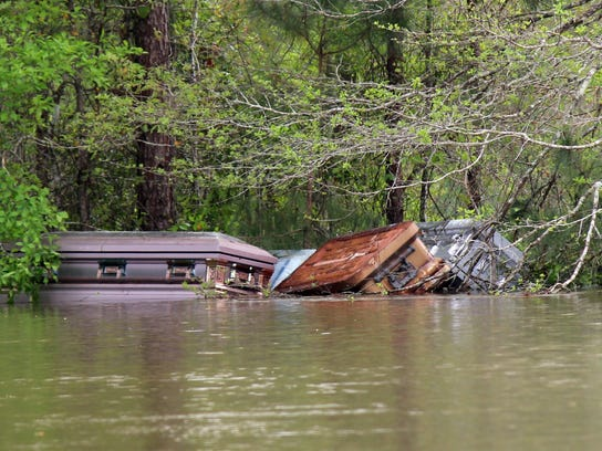 Louisiana Flooding Caskets (2)