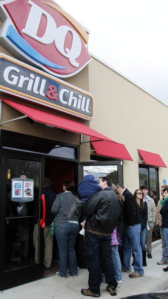 When the Dairy Queen on Johnston Street opened in March
